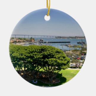 San Diego Christmas Ornament