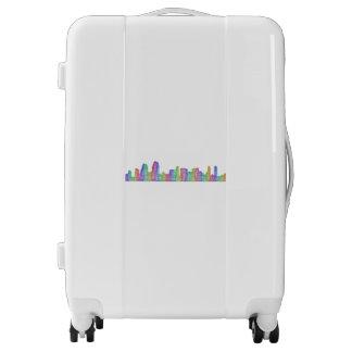 San Diego city skyline Luggage
