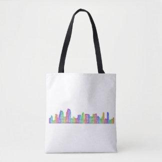 San Diego city skyline Tote Bag