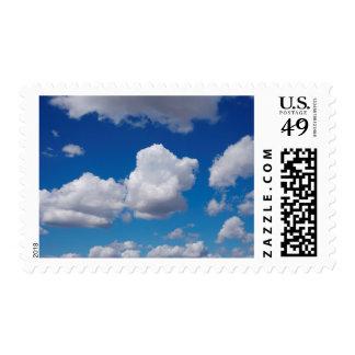 San Diego, Clouds Postage