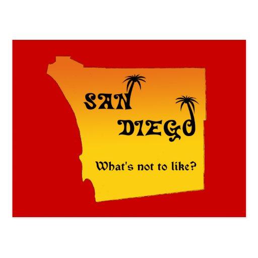 San Diego--¿como cuál no es? Postales