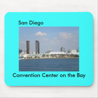 San Diego Convention Center on the Bay Mouse Pad