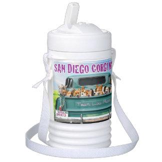 San Diego Corgi Meetup 1 Quart Beverage Cooler