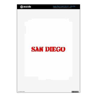 San Diego Decal For iPad 3