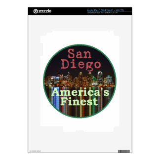 San Diego Decal For iPad 3