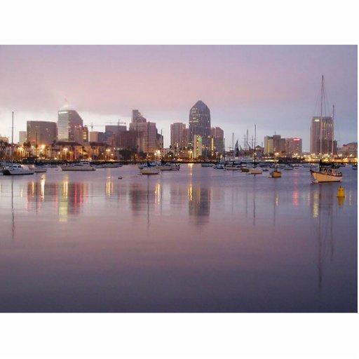 San Diego Dock Standing Photo Sculpture