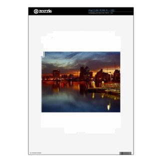 San Diego Docks Night Decal For The iPad 2