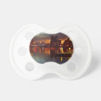 San Diego Docks Night Pacifier