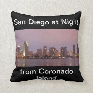 San Diego en la almohada de MoJo del americano de