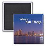 San Diego en la noche Imán