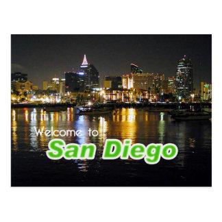 San Diego en la noche Postales