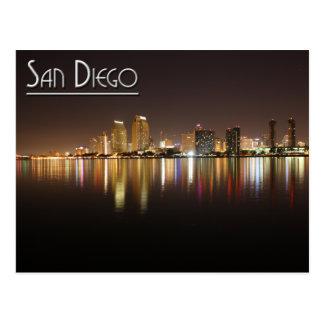 San Diego en la noche Postal