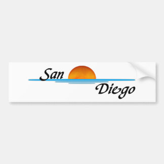 San Diego Etiqueta De Parachoque