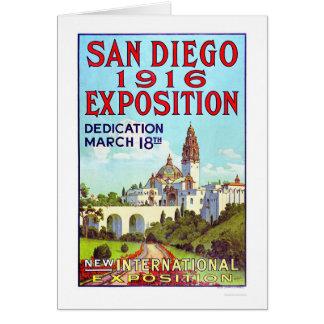 San Diego Exposition 1916 Card