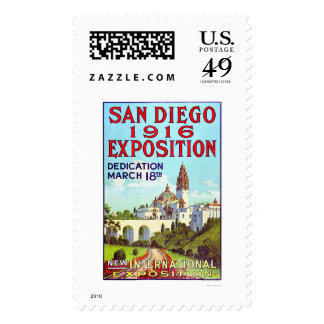 San Diego Exposition 1916 Postage Stamp