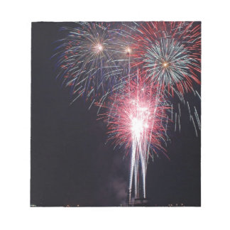 San Diego Fireworks Memo Pad