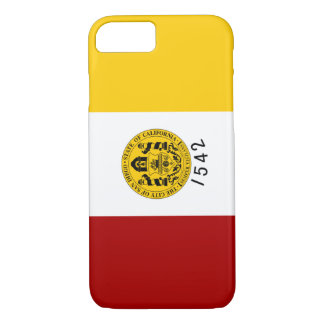 San Diego Flag iPhone 8/7 Case