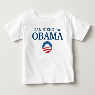 SAN DIEGO for Obama custom your city personalized T-shirt