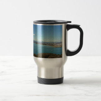 San Diego From The Cabrillo Statue 15 Oz Stainless Steel Travel Mug