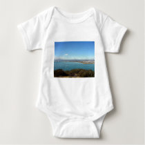 San Diego From The Cabrillo Statue Baby Bodysuit