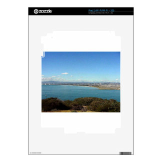 San Diego From The Cabrillo Statue iPad 2 Decals