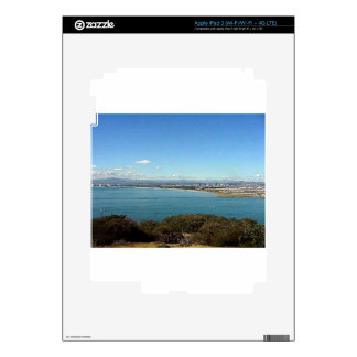 San Diego From The Cabrillo Statue iPad 3 Decals