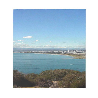 San Diego From The Cabrillo Statue Notepad