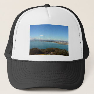 San Diego From The Cabrillo Statue Trucker Hat