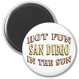 San Diego Fun Refrigerator Magnets