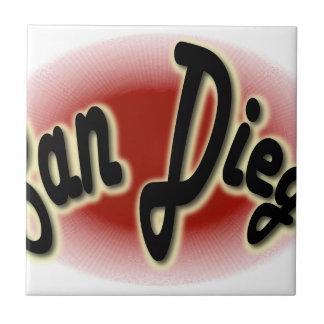 San Diego Glow Red Tile