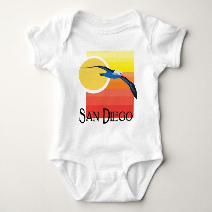 San Diego Gull Baby Bodysuit
