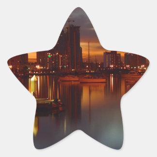 San Diego harbor 2 Star Sticker