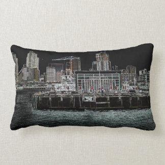San Diego Harbor - Broadway Pier Pillow