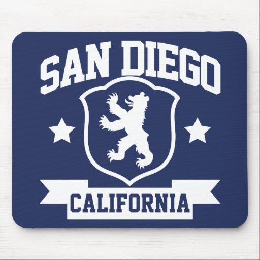 San Diego Heraldry Mouse Pad