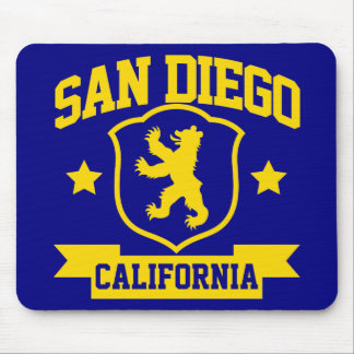 San Diego Heraldry Mouse Pad