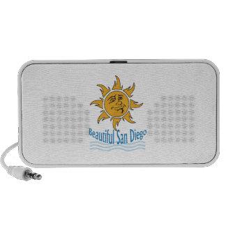 San Diego hermosa iPod Altavoces