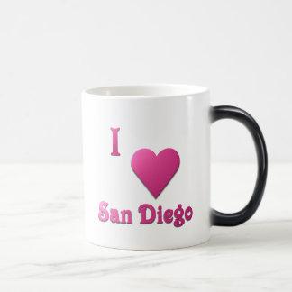 San Diego -- Hot Pink Magic Mug