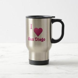 San Diego -- Hot Pink Travel Mug