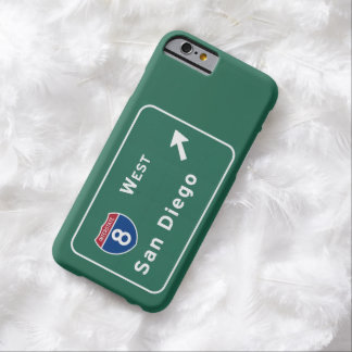 San Diego I-8 West Exit Interstate California Ca - Barely There iPhone 6 Case