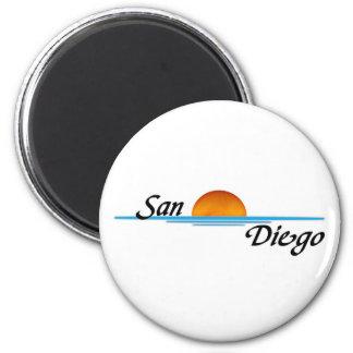 San Diego Imán Redondo 5 Cm