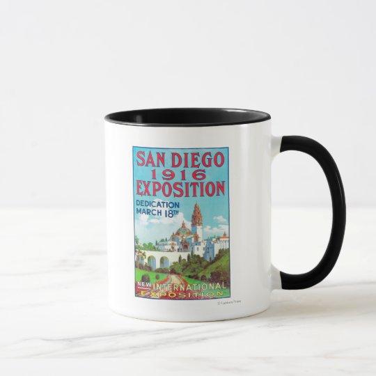 San Diego International Exposition Poster Mug