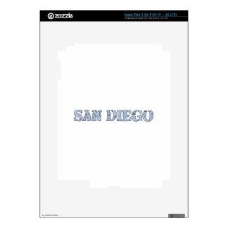 San Diego iPad 3 Decal