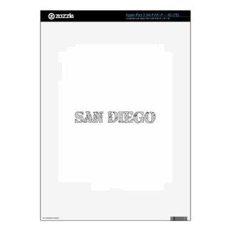 San Diego iPad 3 Skin