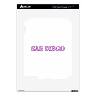 San Diego iPad 3 Skins