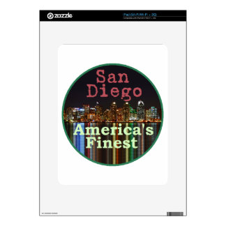 San Diego iPad Skins