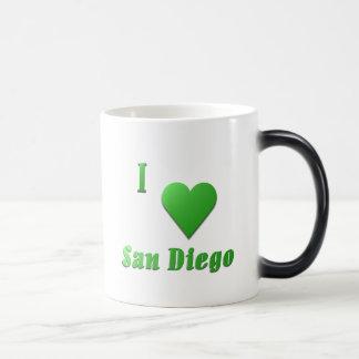San Diego -- Kelly Green Magic Mug