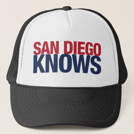 San Diego Knows Trucker Hat