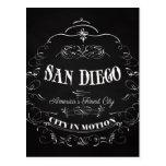 San Diego la ciudad más fina de California, Améric Tarjeta Postal