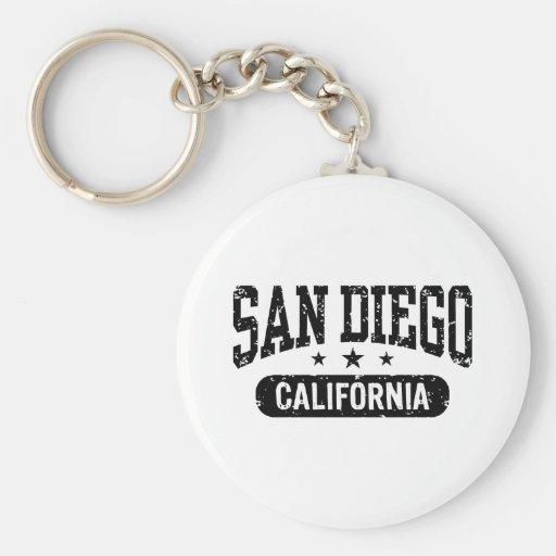San Diego Llavero Redondo Tipo Pin