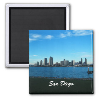 San Diego 2 Inch Square Magnet